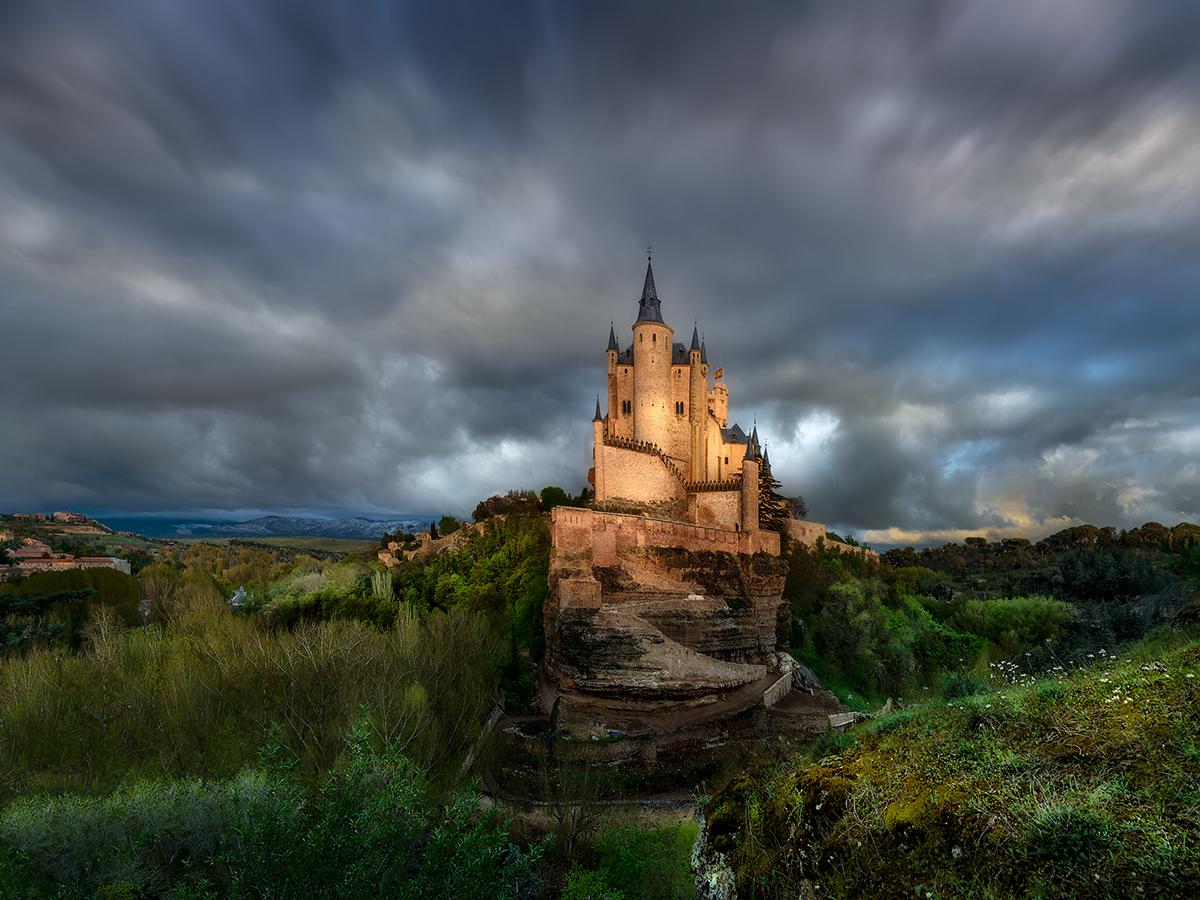 Segovia Alcazar Cuento de hadas