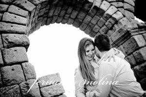 Reportaje pre boda en Segovia