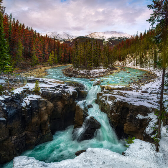 Canadá Sunwapta Falls 1