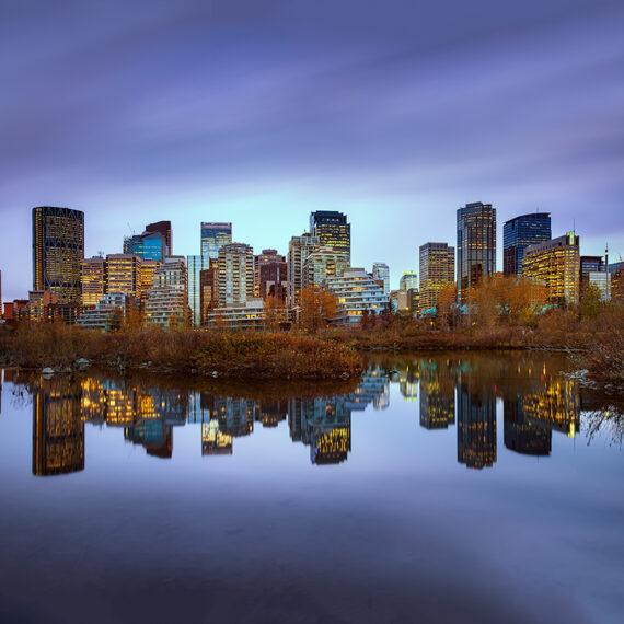 Canada Calgary Skyline 1