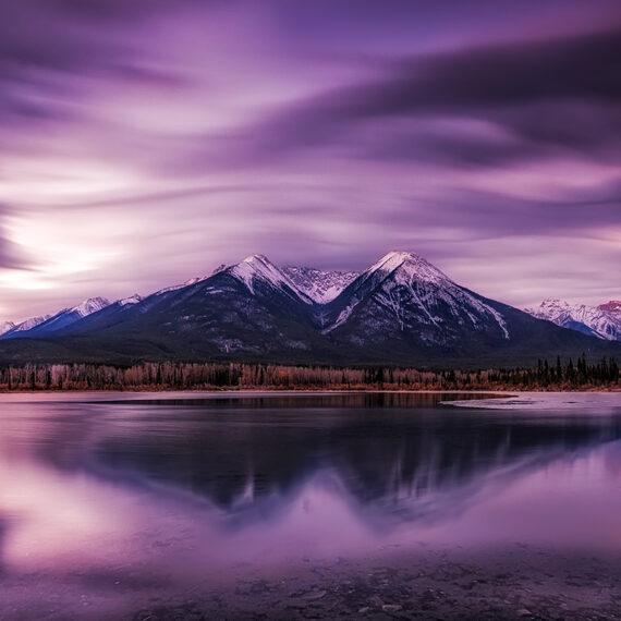 Canada Vermilion Lakes 4