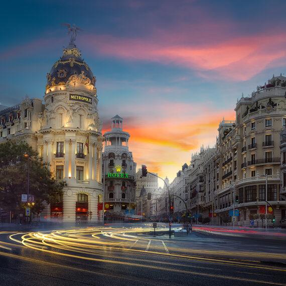Fotografía en Madrid Edificio Metrópolis