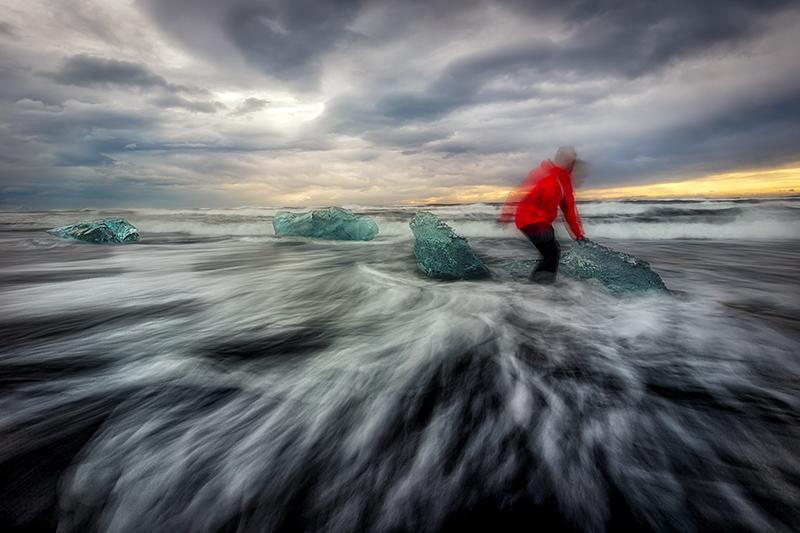 Islandia Surfeando