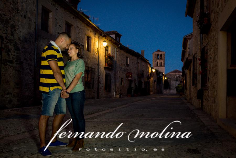 Reportaje pre boda en Las hoces del Duratón (Segovia)