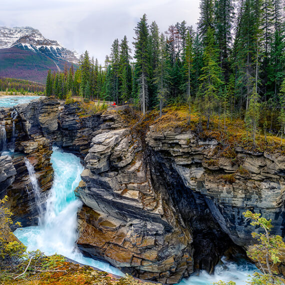 Canadá Athabasca Canyon