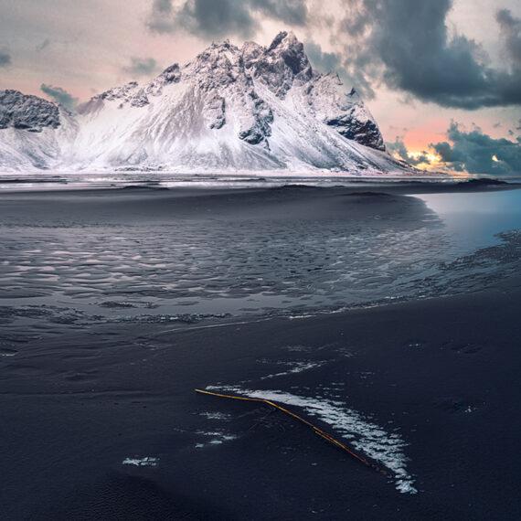 Islandia Amanecer en Stokksnes