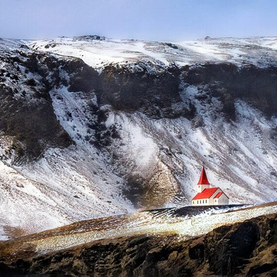 Islandia Iglesia de Vik