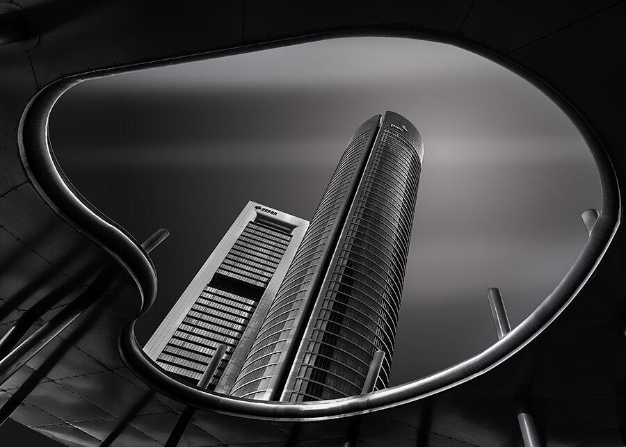 Fotos de Madrid Arquitectura 4 Torres Espionaje